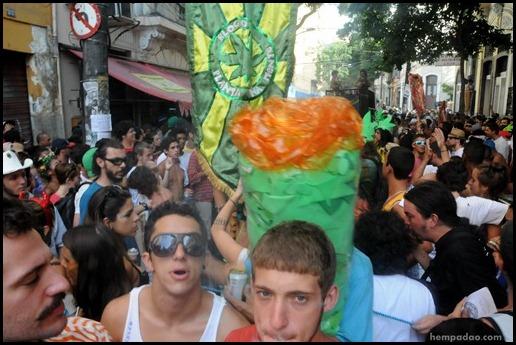 Planta Mente desfile 2013 hempadao marcha maconha