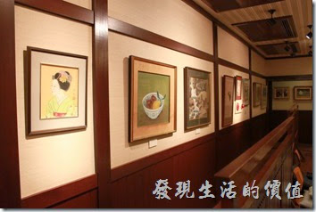 日本北九州-由布院-彩岳館。二樓的ゆすら庵(山櫻桃庵)應該是個較高級的筵會場所,招待貴賓用的。