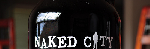 image of Naked City Brewing's Growler courtesy of our Flickr page