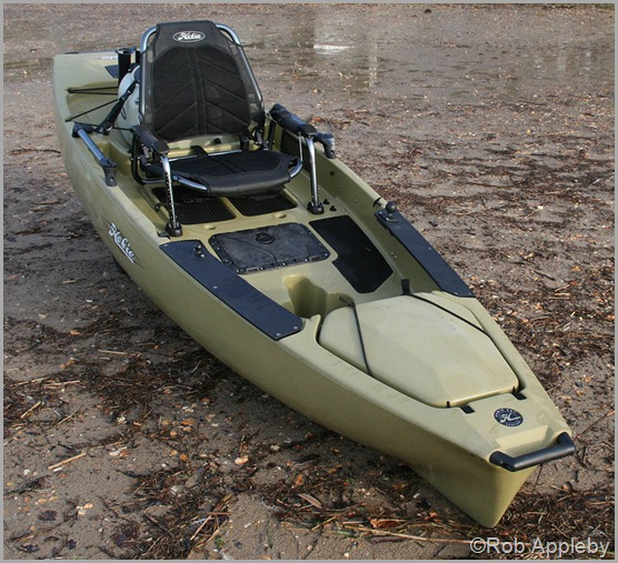 Hobie pro angler 12 a short review payne outdoors for Fishing kayak with livewell