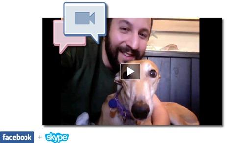 videochamadas skype facebook