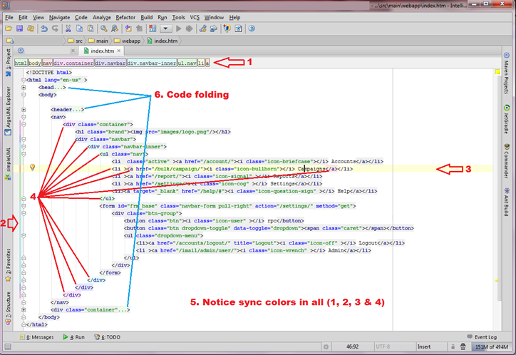 JetBrains IntelliJ IDEA IDE (Click to open enlarge image in a new window)