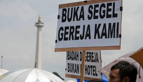 Gereja Paroki Parung Bogor Disegel