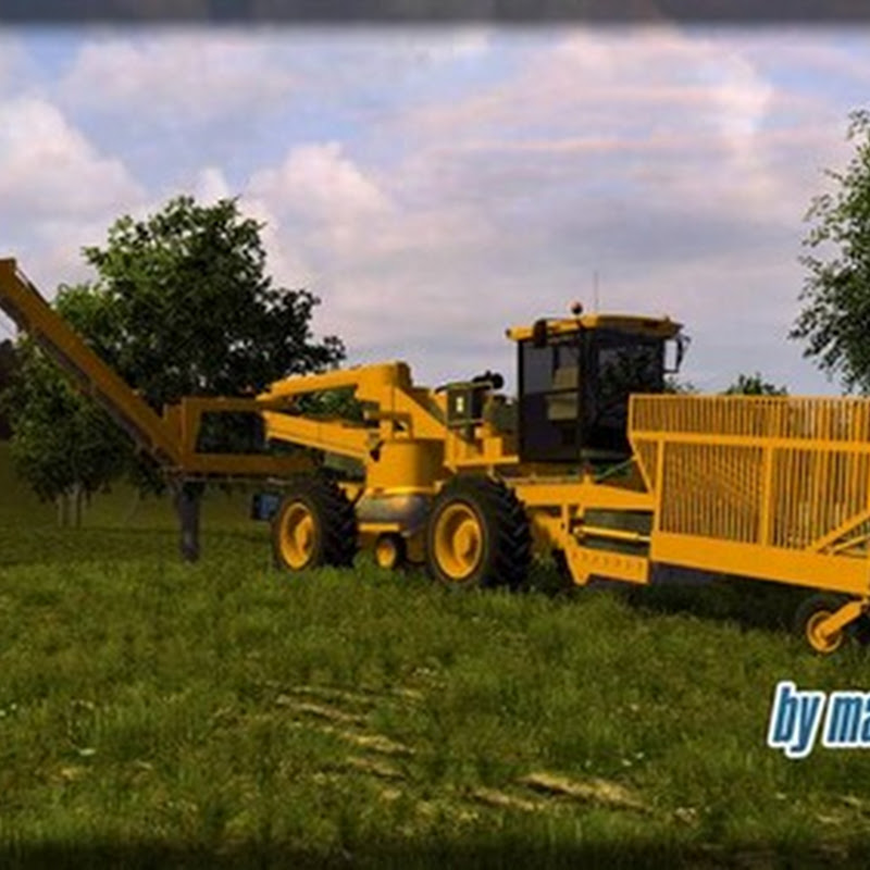 Farming simulator 2013 - Ropa euro Bunker Mouse 3 v 1
