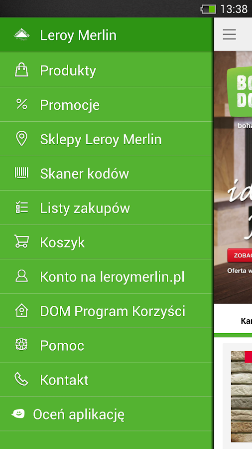 Leroy Merlin Polska Screenshot 1