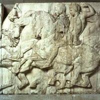 11.- Fidias. Friso del Partenón