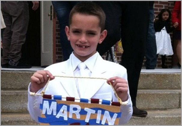 8-year-old Martin Richard was killed by one of the two bombs detonated at the Boston Marathon on Monday April 15, 2013. CLICK for more from WCVB Boston.