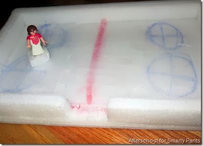 Styrofoam Olympic Rink