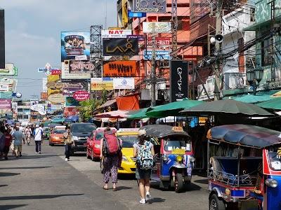 Obiective turistice Bangkok: Khao San Road