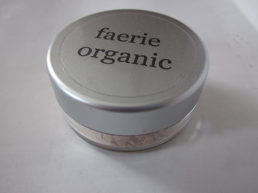 Faerie Organic Mineral Foundation ($18.00 for 30 g)