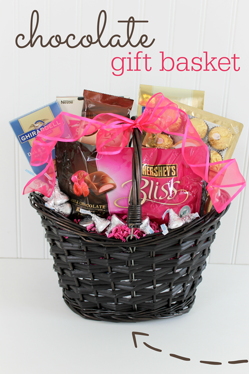 chocolate gift basket giveaway at GingerSnapCrafts.com #giveaway