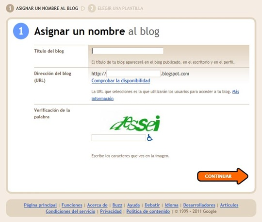 Nombre de blog