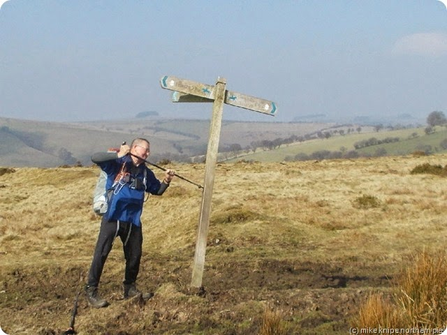 jj seeing to a wobbly signpost