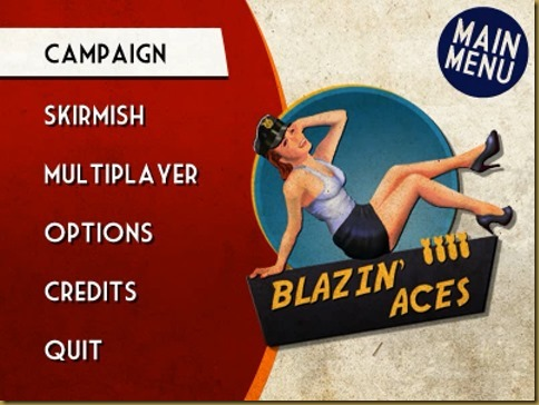 Blazin' Aces タイトル