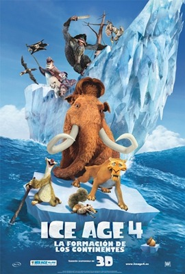 Poster Ice Age 4