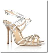Oscar de la Renta Multi-Strap Sandals