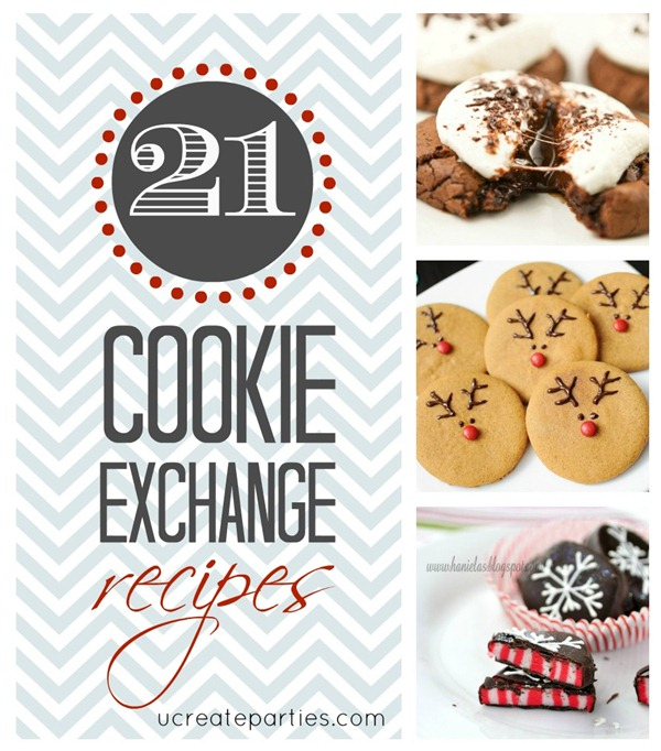 21 Cookie Exhange Recipes