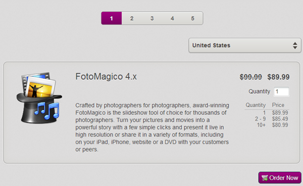 FotoMagico 4x Discount Coupon Code