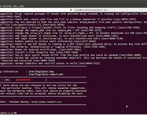 Lynis su Ubuntu