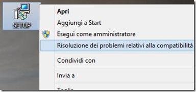 Risoluzione dei problemi relativi alla compatibilità Windows 8