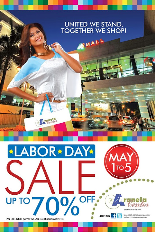 Labor Day Sale Araneta
