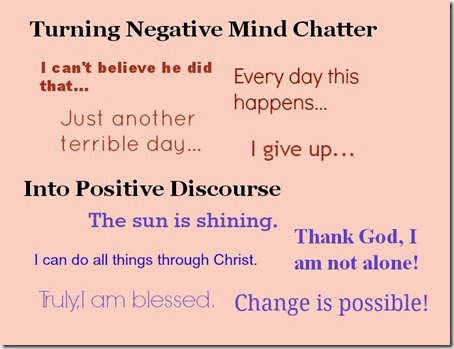 Walk Away from Negative Mind Chatter - The Cozy Nook