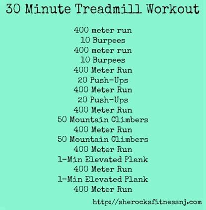 HARD treadmill workout