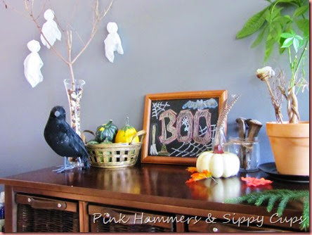 Autumn Decor @ Pink Hammers & Sippy Cups