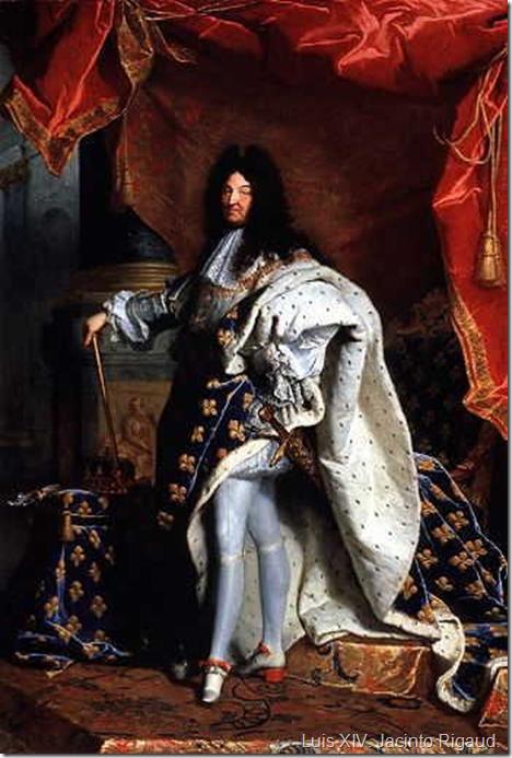 Luis XIV. Jacinto Rigaud.
