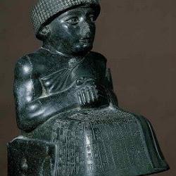 21 - Estatua de Gudea de Lagash