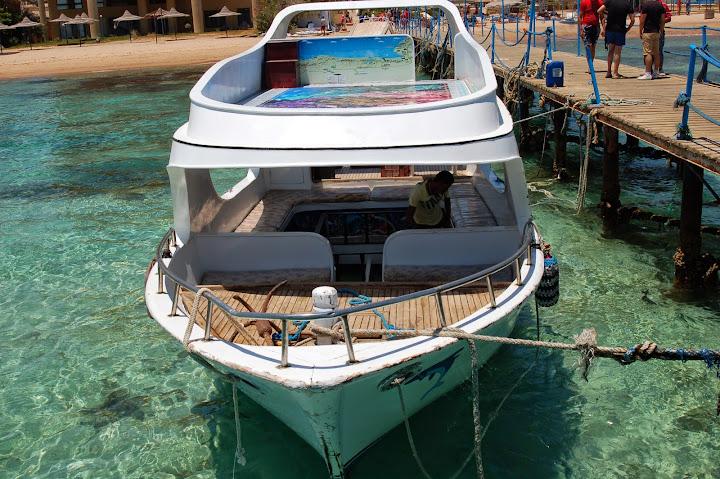 со лодка дном стеклянными