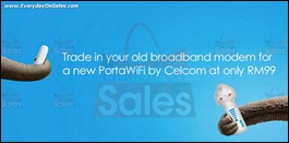 Celcom Trade in and enjoy PortaWiFi Branded Shopping Save Money EverydayOnSales