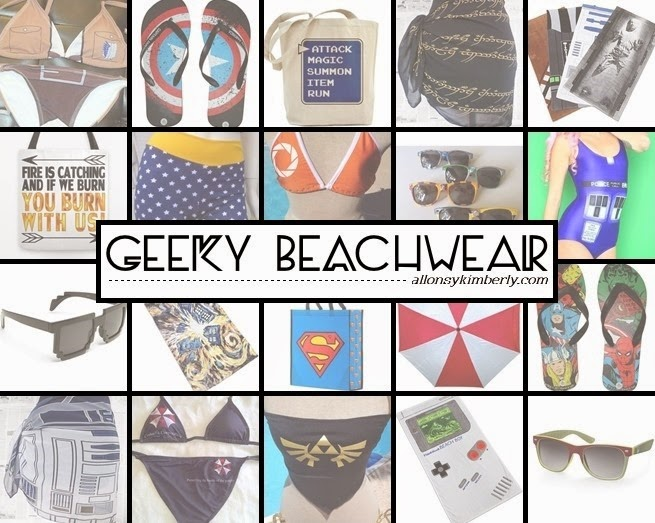 Geeky Beachwear | allonsykimberly.com
