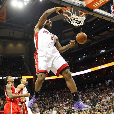 lebron james nba 140120 mia at atl 04 LBJ Wore BHM LeBron 11, But You Might Have Missed It! I did.