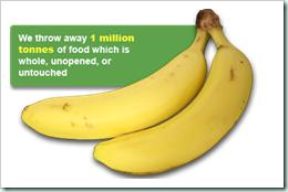 waste banana