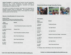 Culture Schock Charity Show Invitation Program_page2
