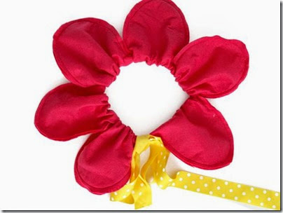 Disfraz de flor Patrones para diadema