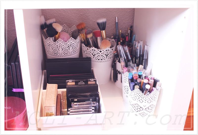 maquillaje-organizacion-brochas-lapices-paletas-coleccion-tocador