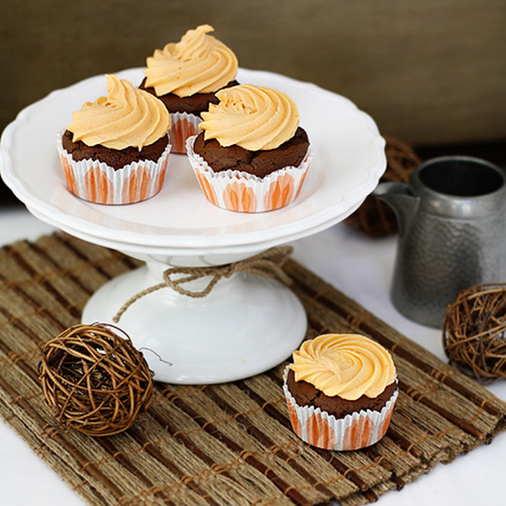 Chocolate Cupcakes With Orange Cream Cheese Frosting Recipes ...