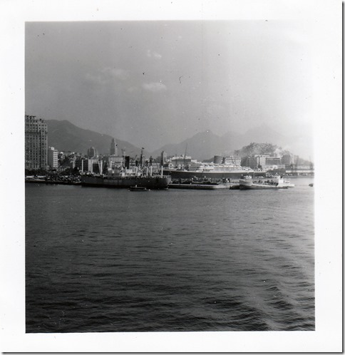 48 -  July 9, 1952 Rio de Janeiro, Brazil - View from the S.S. Brazil Photoshop Color Adjusted