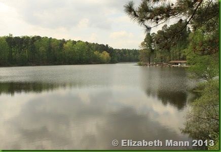 Lake for canoe rides
