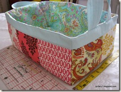 side one of scrappy basket