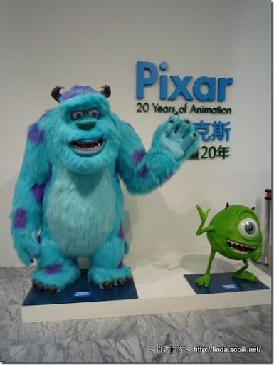 Pixar皮克斯-怪獸電力公司