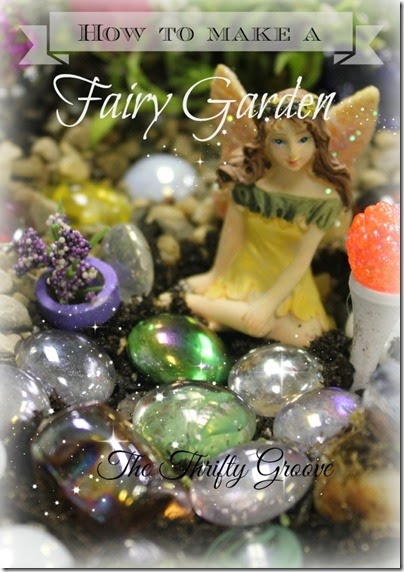 How to make a fairy garden 2