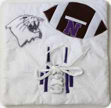 Northwestern football quiet book page