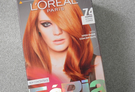 LOREAL MANGO INTENSE COPPER FERIA