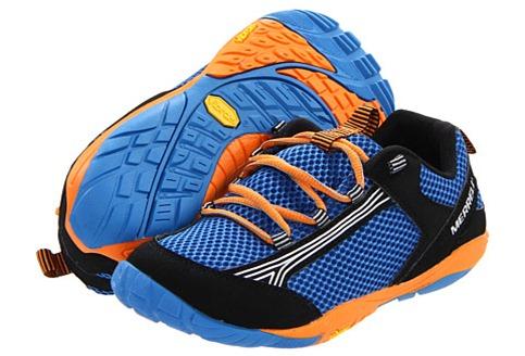 Merrell Flux Glove Men S Athletic Shoe Castle Rock Saffron
