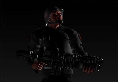 Gun Pose Maya