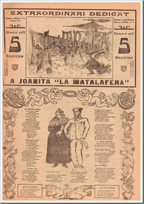 la traca 1916