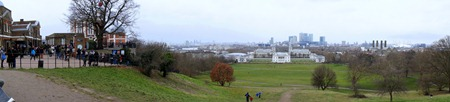 View from Royal Observatory Greenwich